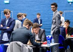 Anand draws; Carlsen's hunt for victory continued
