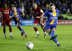 FA Cup PIX: Liverpool held by third-tier Shrewsbury