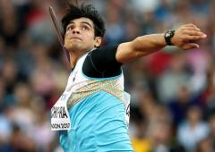 Neeraj Chopra starts training for Olympics