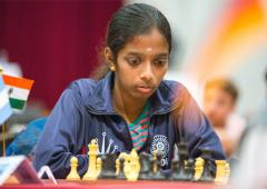 Women's Speed Chess: Vaishali loses in quarters