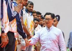 Can't risk health for sport: Sports Minister Rijiju