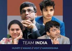 Online chess: India loses to Rest of World