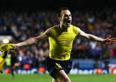 Iniesta calls children born because of his goal