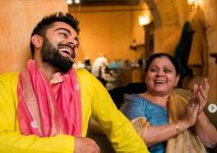 When Kohli's mom was unhappy with his fitness regime