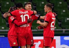 Bundesliga: Havertz double lifts Bayer to win