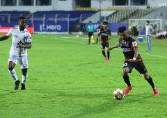 Sylla, Angulo score as NEUFC and Goa share points