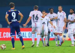 Indian football: NorthEast United hold Chennaiyin FC