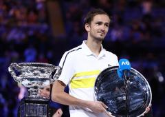 Medvedev hopes for more chances to end Slam drought