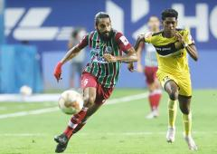 ISL: ATKMB avoid shock defeat against 10-man Hyderabad