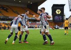 EPL: West Brom rally to beat Wolves in derby