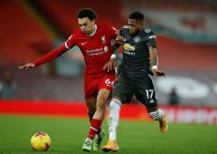 EPL PIX: Liverpool held to goalless draw by United