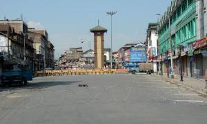 Hurriyat strike against land laws hits normal life