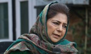 Under 'illegal detention' yet again, claims Mehbooba