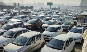 Farmers' protest leads to traffic snarls in Delhi