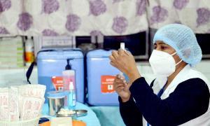 Vardhan reviews preparedness for vaccination drive
