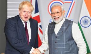 Johnson invites PM Modi to UK for G7 summit in June