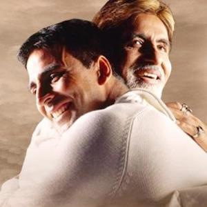 Who makes Akshay's best on-screen dad?