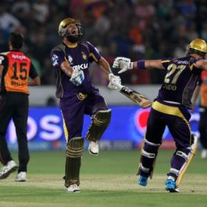 IPL PHOTOS: KKR inch closer to play-offs