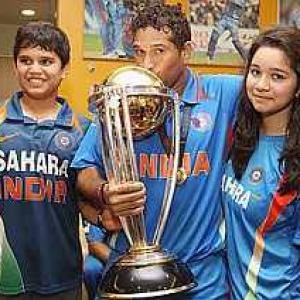 Won't force my son to become a cricketer: Sachin