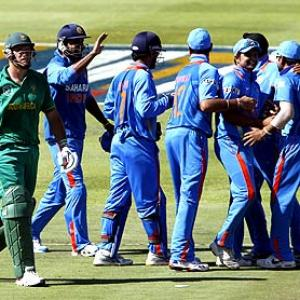 Images: India vs South Africa, 3rd ODI (Newlands)