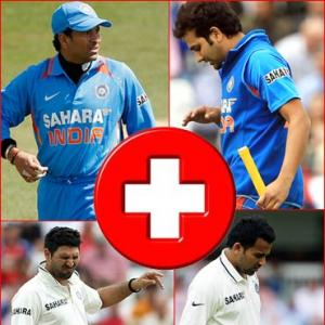 Take a look at Team India's casualty list