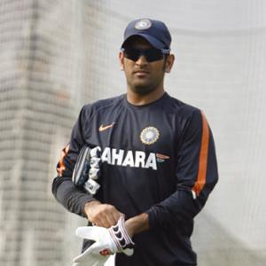 Dhoni set for first domestic game in eight years