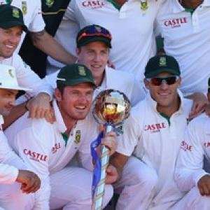 South Africa retains No.1 Test position