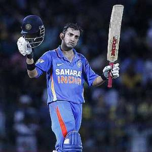 Gambhir, Raina star in India's five-wicket win