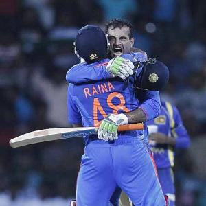 Photos: India sneak past Lanka in 3rd ODI
