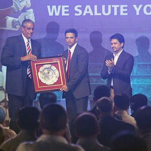 Rahul Dravid: Playing for India humbled me