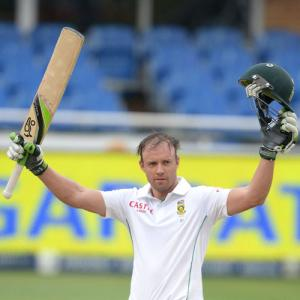 It's about De Villiers's 18th ton and Zaheer's 300th Test wicket