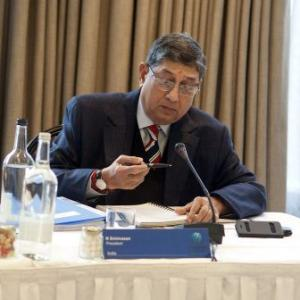 Srinivasan should not decide on Modi: Abdi