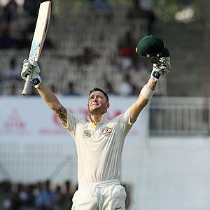 1st Test: Clarke ton steadies Aus after Ashwin claims six