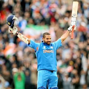 Shikhar Dhawan led the way, Rohit and Virat followed him