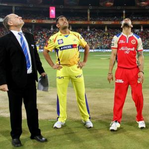 IPL PHOTOS: Royal Challengers Bangalore vs Chennai