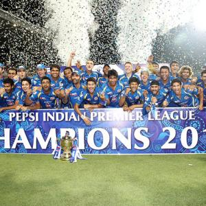 PHOTOS: Mumbai Indians are IPL champions!