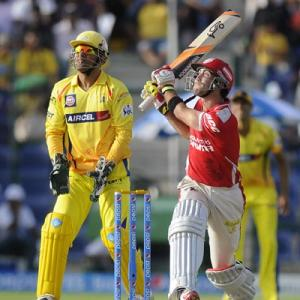 Maxwell shines as Punjab down Chennai in battle of Kings