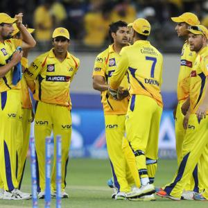 IPL PHOTOS: Holders Mumbai stay win less after defeat to Chennai