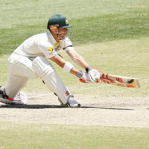 Warner does a Bradman: Second Aussie to hit tons in each innings vs India