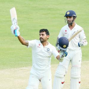 PHOTOS, Day 1: Vijay's century caps India's dominance at Gabba