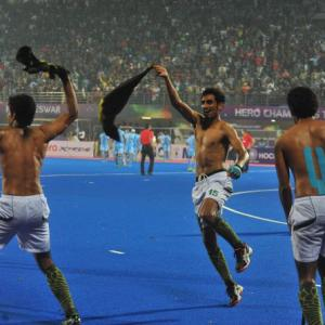 'Hockey players celebration can affect India-Pak cricket ties'