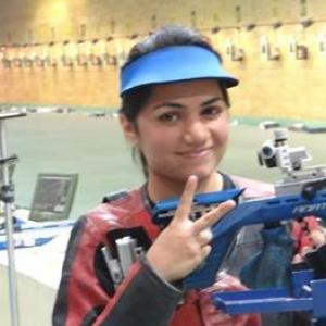 Jaipur girl realises dream of shooting alongside Bindra, wins two gold