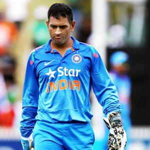 Dhoni leads ICC's 'ODI' side; No Indian in 'Test Team'