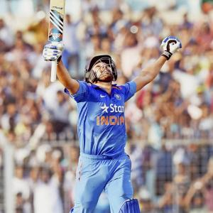 IN PHOTOS: Rohit Sharma sets Eden ablaze with majestic double!