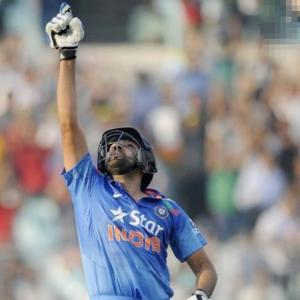 Stats: Records galore for Rohit Sharma
