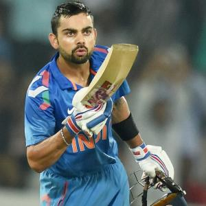 ODI Rankings: India continue to top table; Kohli No 2
