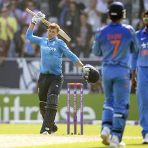Root hits ton as England deny India clean sweep