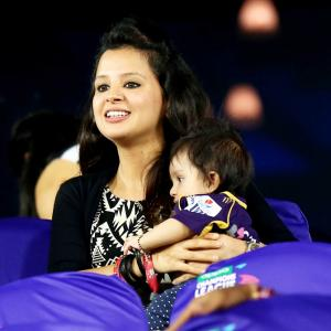 PIX: Cricketers, their gorgeous wives and kids at CLT20