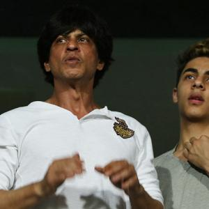 IPL PHOTOS: KKR shine as SRK clan cheer from the stands