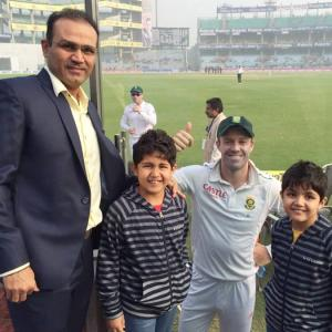 Break my record and my Ferrari is yours: Sehwag's promise to sons